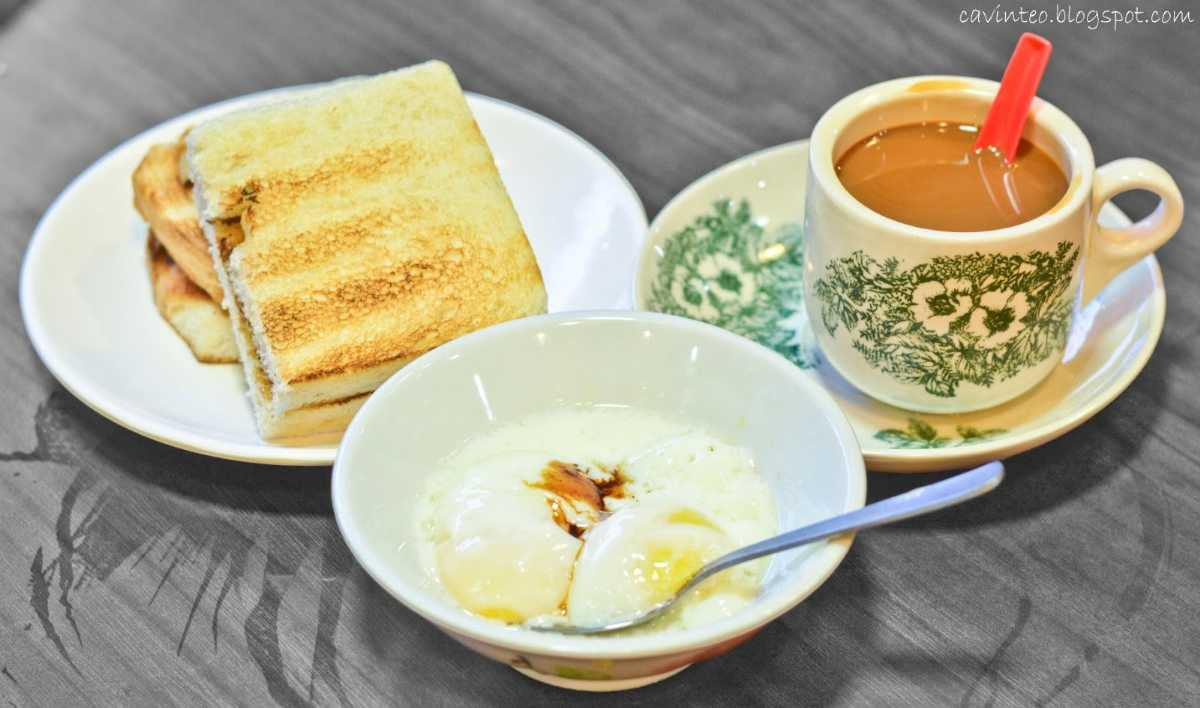 Kopi and Kaya Toast, Food and drinks in Singapore